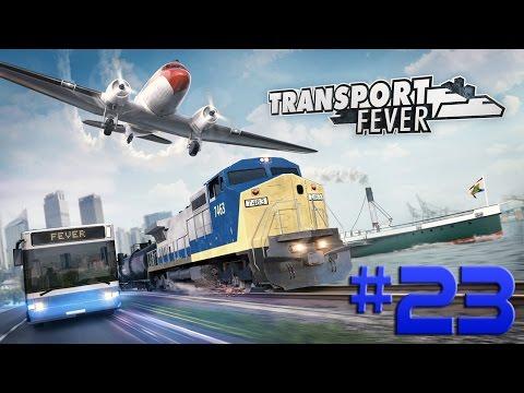 Transport Fever - GRANDES DAMANDAS EXIGEM GRANDES TRENS!!! #23 (Gameplay/PC/PTBR) HD