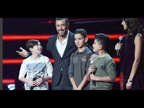 مرحلة المواجهة يمان قصار و تيم الحلبي و زياد أمونة HD ذا فويس كيدز the voice kids