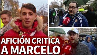 Real Madrid 2-0 Sevilla   La afición apoya la suplencia de Marcelo  Diario AS