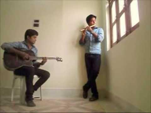Ghar se nikalte hi - Guitar & Flute