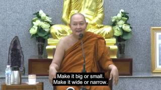 """Mind-Body Segregation: The First Step of Wisdom Practice"" Dhamma talk A. Pramote"