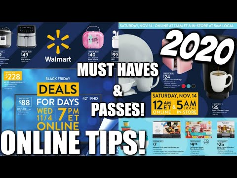 Walmart Black Friday 2020 Early Deal Must Haves Tips Nicole Burgess Youtube