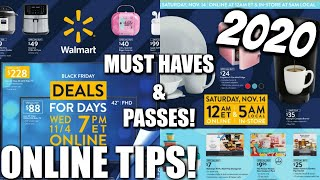 WALMART BLACK FRIDAY 2020! EAŔLY DEAL MUST HAVES/TIPS! NICOLE BURGESS