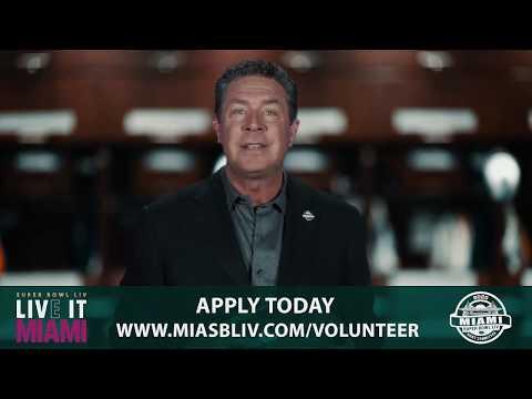Jodi Stewart - Dan Marino is Looking for Volunteers for Super Bowl LIV in Miami
