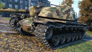 T110E4 - TANK EATER - World of Tanks Gameplay