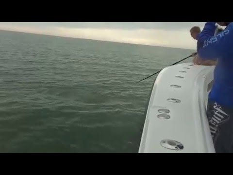 Trey Fisher Is On The Cobia With The Silent Hunter Crew