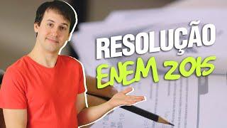 ENEM 2015 - Resolução