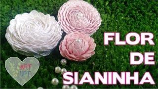 DIY – Flores de Sianinhas – Passo a passo – Vapt Vupt