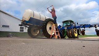 Getting farm equipment prepped for next year already???