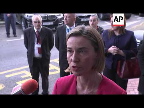 Mogherini says migrants deal not same as US ban