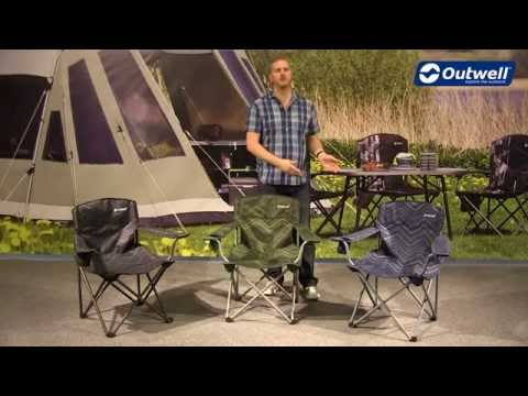 Outwell Woodland Hills Camping Chair | Innovative Family Camping