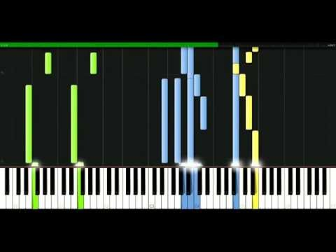 Dr Dre - Keep their heads ringing [Piano Tutorial] Synthesia | passkeypiano