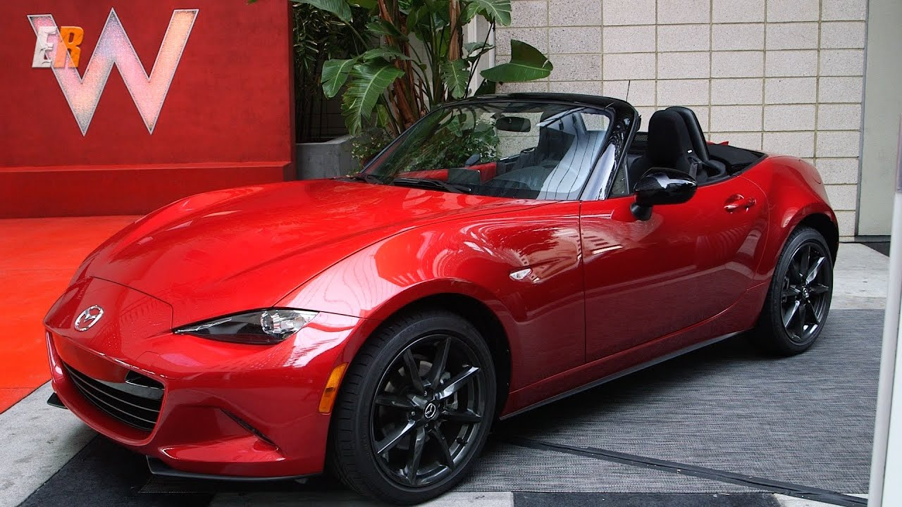 2016 Mazda MX-5 Miata - New Test Drive - YouTube