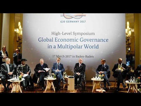 G20 finance ministers and central bank governors meet in Baden-Baden