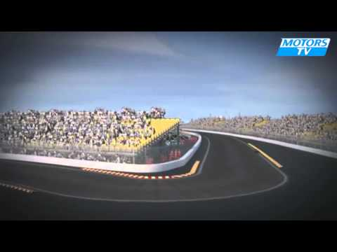 Tour circuit GP Europe F1 2012