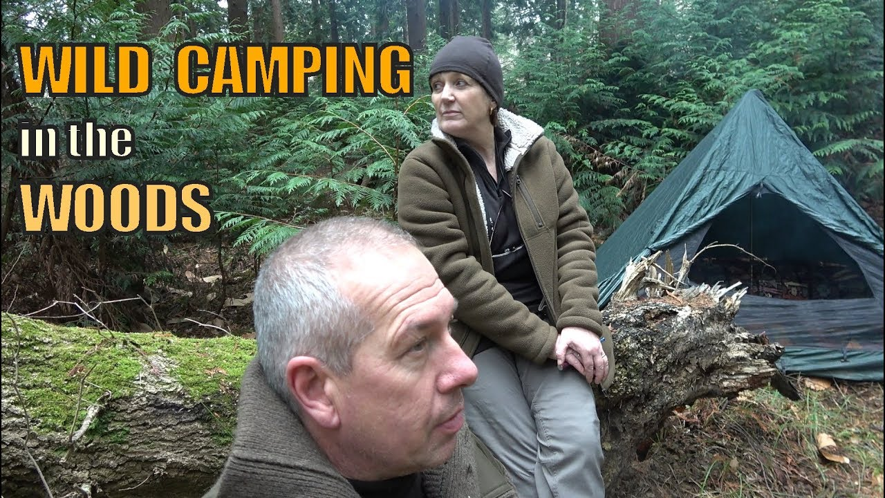 Campfire Chicken Wild Camping | Canvas Lavvu | DAY 2