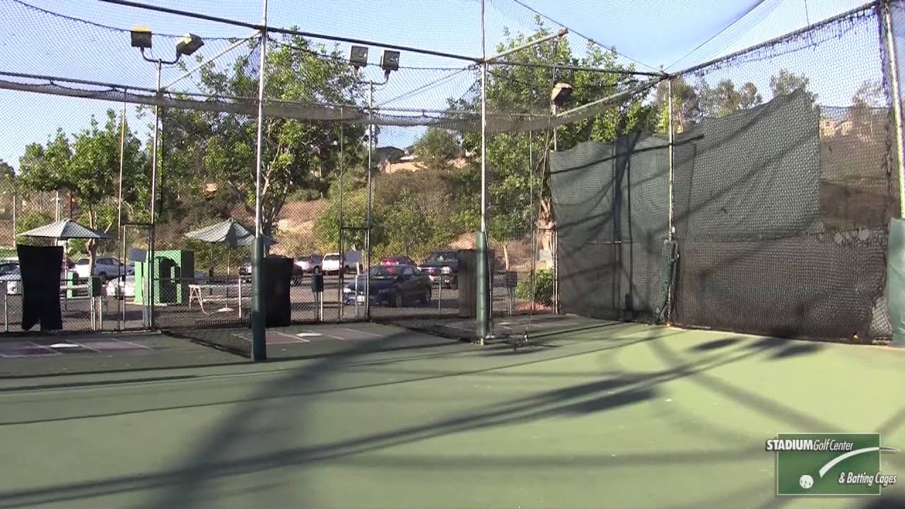 Stadium Golf Center and Batting Cages - YouTube