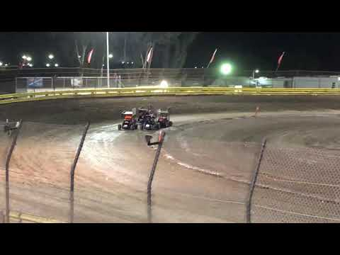 Lemoore Raceway Cal Cup Jr Sprint Heat 2B 10/12/18- Cash