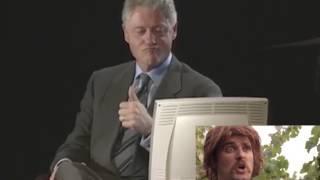 "Bill Clinton Watches ""COXMAN"" Trailer"
