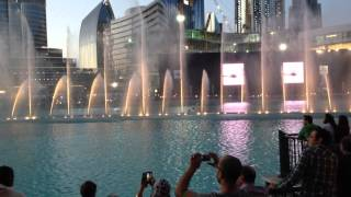 Dubai Fountain 2015 - Whitney Houston - I will always love you