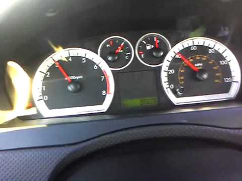 2010 Chevy Aveo 0 60 With Hold Version Engaged