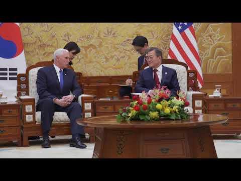 Vice President Pence in South Korea