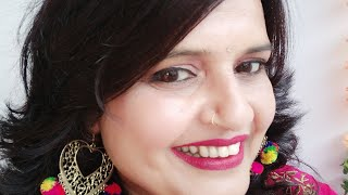 Seema Jaitly Live stream/ Free online Beauty Parlour course (training)/girls light makeup