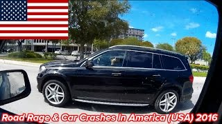 Road Rage & Car Crashes in America (USA) 2016