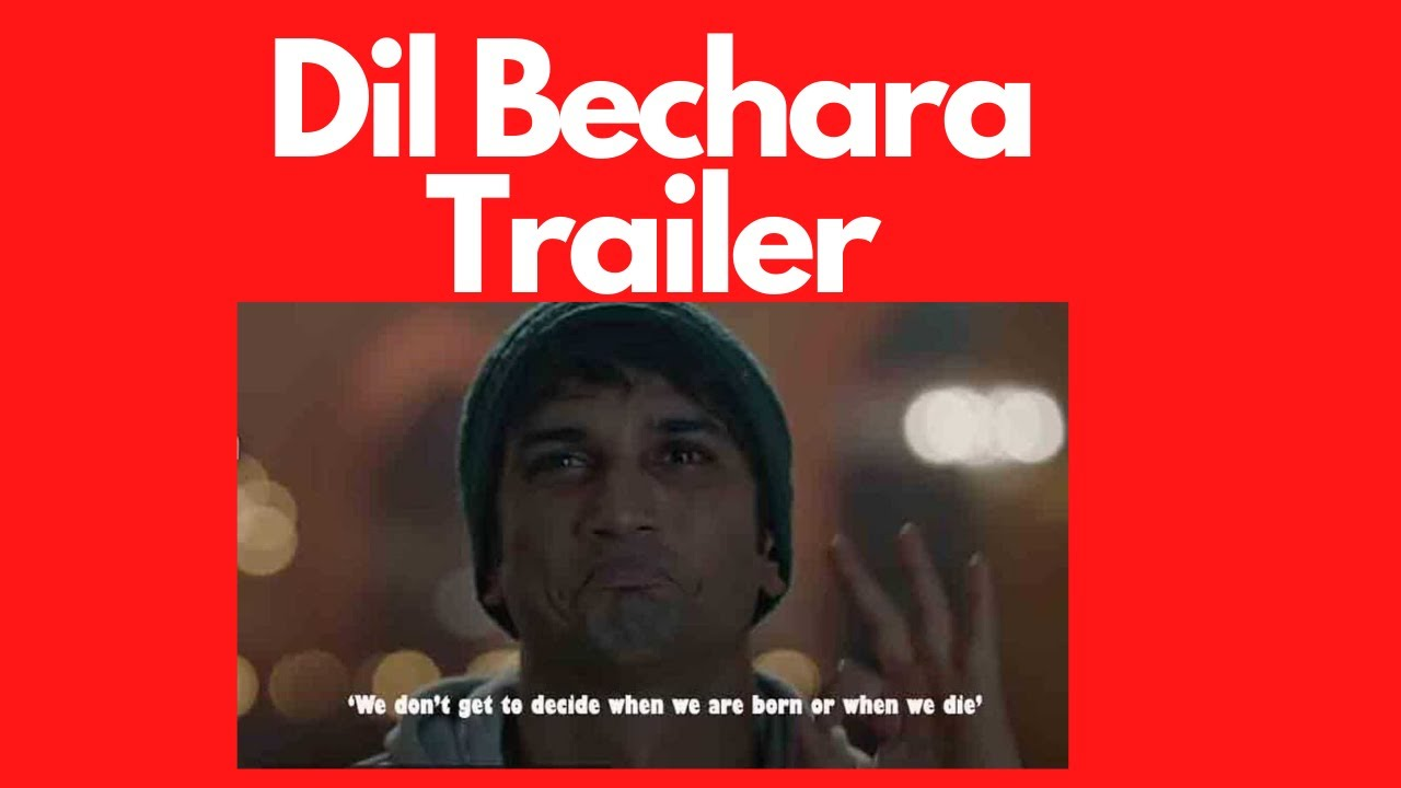 Dil Bechara Trailer Reaction | Sushant Singh Rajput | Sanjana Sanghi