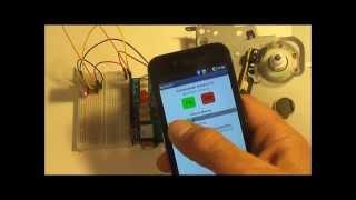 Commande moteur cc Arduino Android Bluetooth