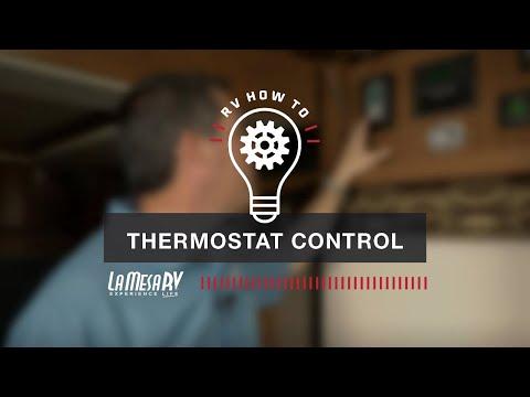 RV Comfort Thermostat Control | RV How To: La Mesa RV