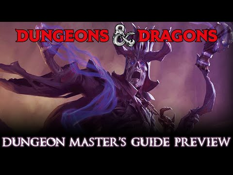Dungeons & Dragons 5e Dungeon Master's Guide Review From Cover To Cover