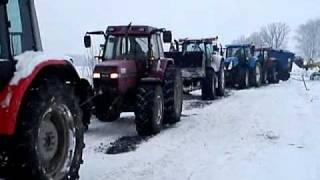 Gościeszowice  850KM vs ciężarówka na poboczu
