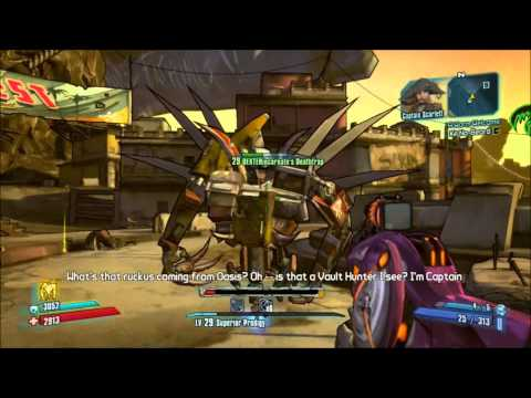 Let's Play - Borderlands 2 : Captain Scarlett and Her Pirate's Booty (1 of 2) |