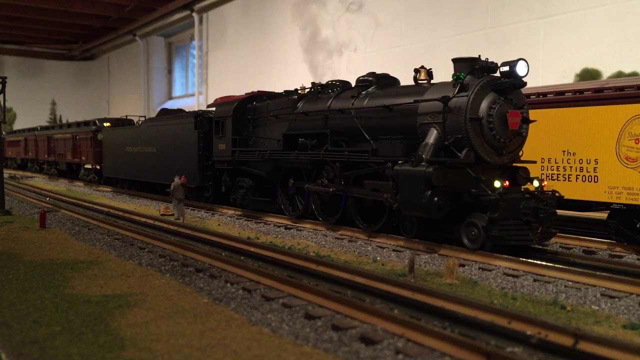 Lionel legacy K4 with Long Haul Tender