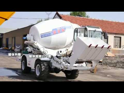 7- Day Delivery Brand New Self Loading Concrete Mixer ...