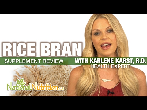 Professional Supplement Review Rice Bran