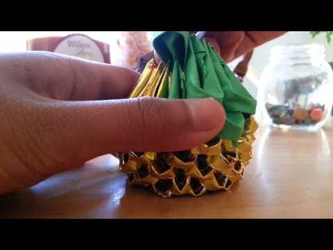 3d origami cat part 1