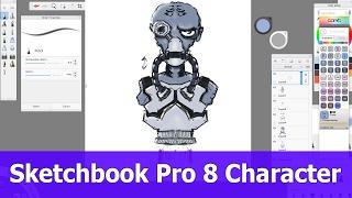 Autodesk Sketchbook - Video tutorials about Autodesk Sketchbook