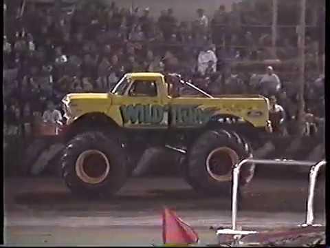 Motor Mayhem Monster Trucks Australia-Bunbury show 1999