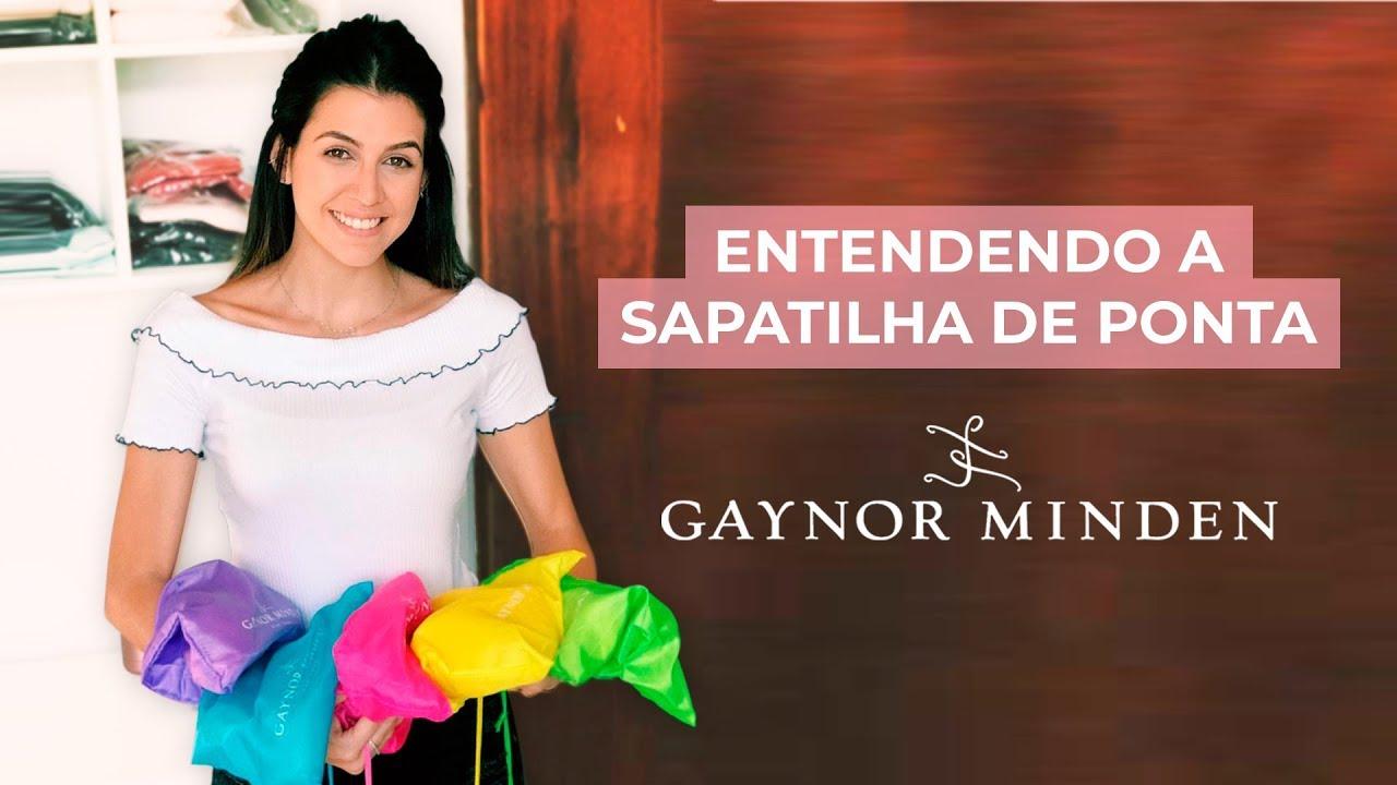 e720a6a2ec Entendendo a Sapatilha de Ponta Gaynor Minden - YouTube