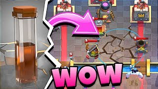 is EARTHQUAKE SPELL boken in CLASH ROYALE!?