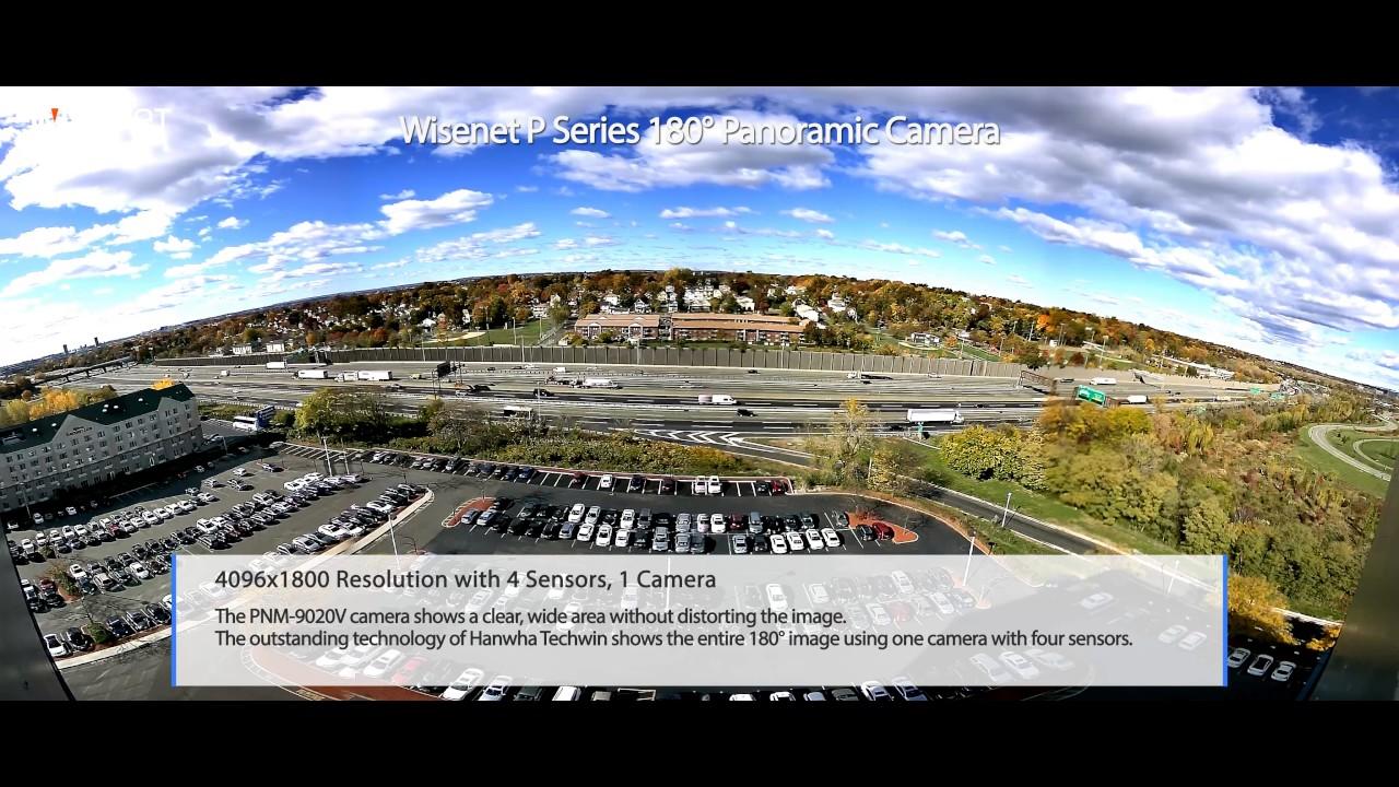 4k 180 186 Panoramic Camera Pnm 9020v Youtube