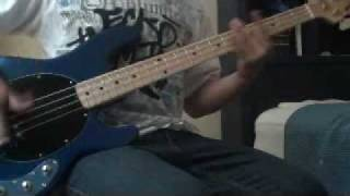 Rage against the machine - fistful of steel bass cover