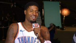 Paul George interview | Okc Thunder Media Day | 24.09.2018