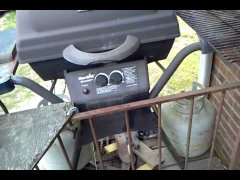 Homemade Gas Grill Heat Shield Youtube