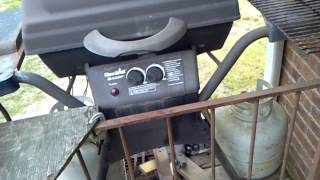 Homemade Gas Grill Heat Shield