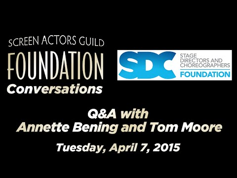 Conversations: Q&A with Annette Bening and Tom Moore