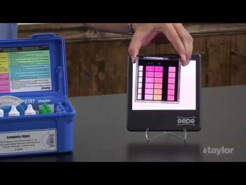 Taylor K2006 Base Demand Test For Swimming Pools Youtube