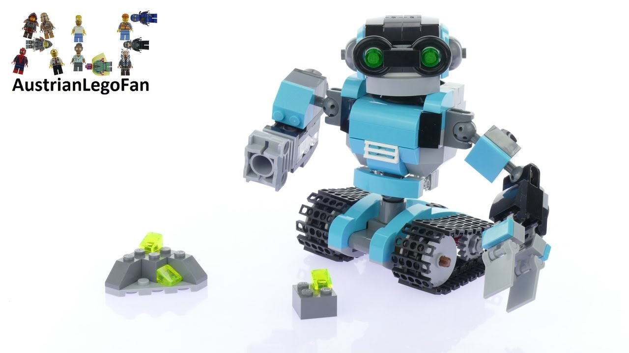 Lego Creator 31062 Robo Explorer Lego Speed Build Review Youtube